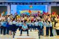 Học sinh tham gia Đại hội Cháu ngoan Bác Hồ cấp Thị Xã